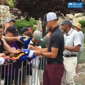 NBC SPORTS BAY AREA on Instagram 745am and Stephs hooking up all the fans at the @acchampionship