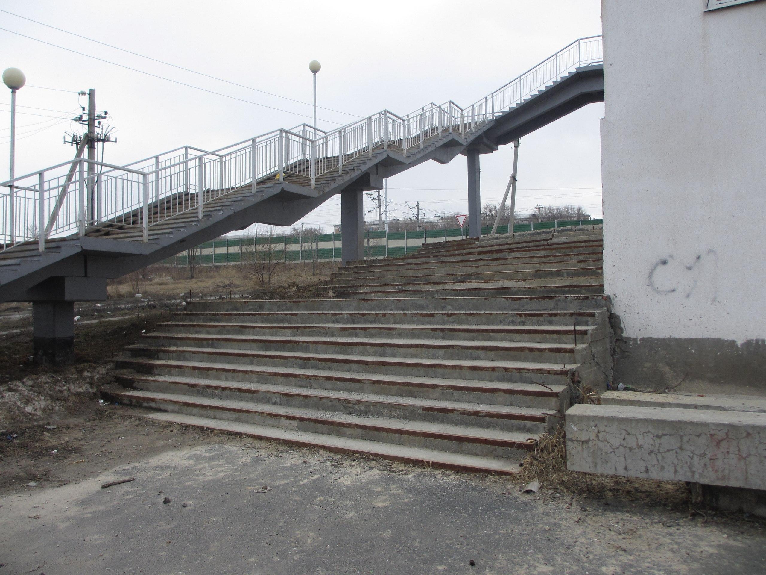 Мост на Образцовской площадке - Сызрань