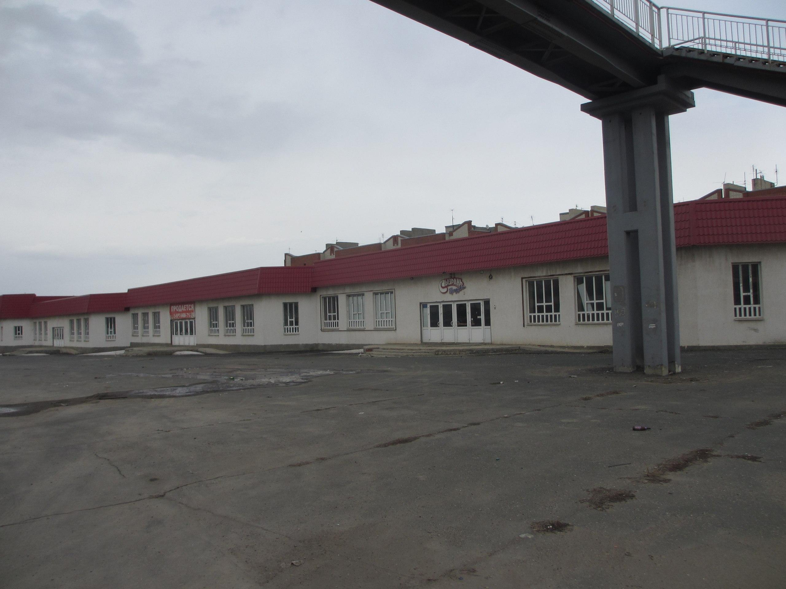Пустой супермаркет в Сызрани