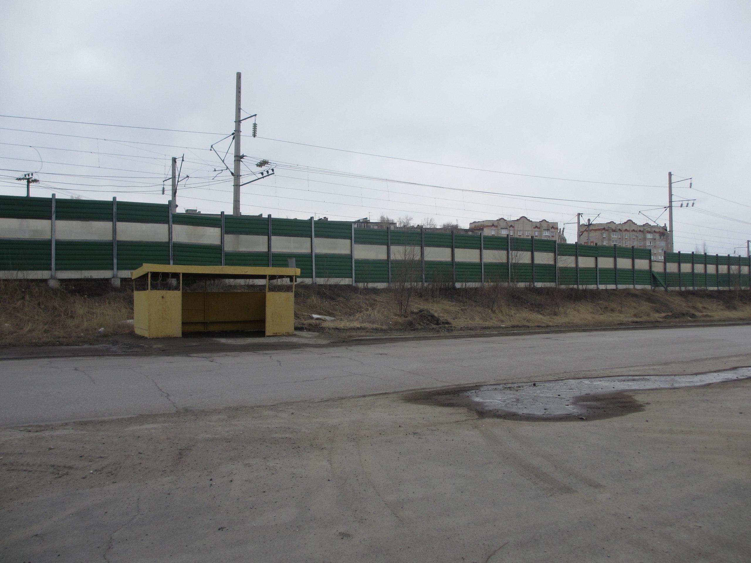 Железная дорога в Сызрани