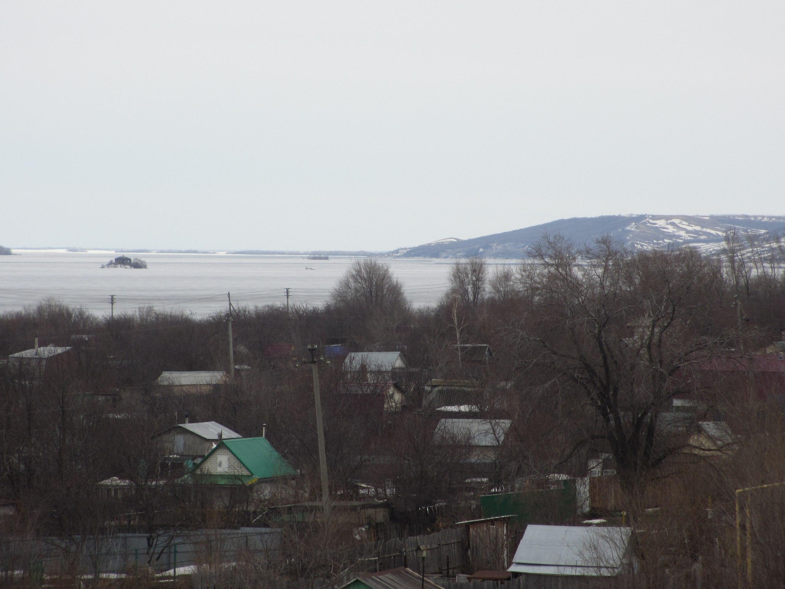 Кусочек Волги в Сызрани