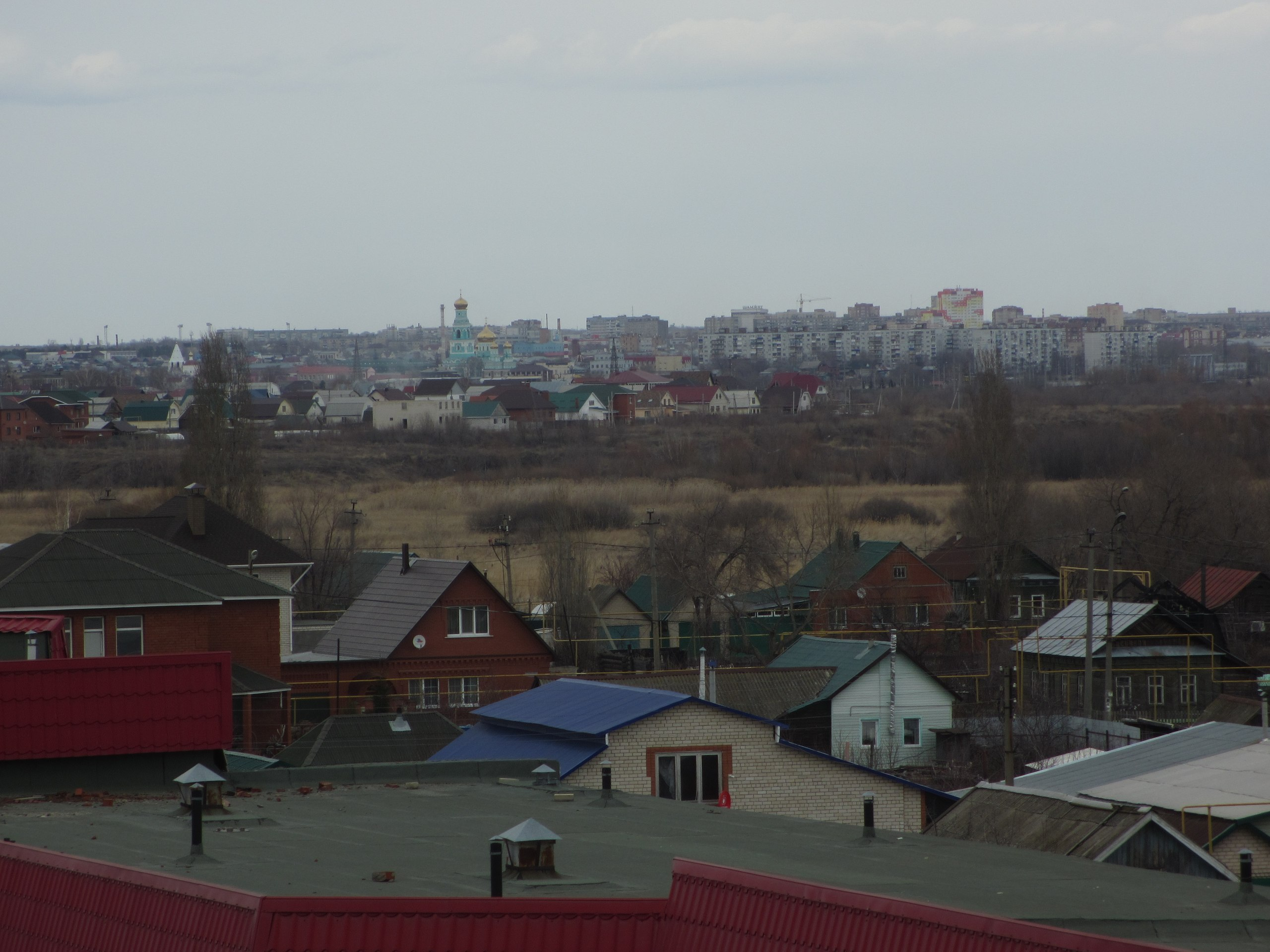 Вид на центр города Сызрани