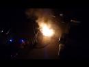 Сгорела Нива в Стерлитамаке