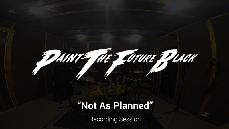 PTFB - Not As Planned (drums recording session)