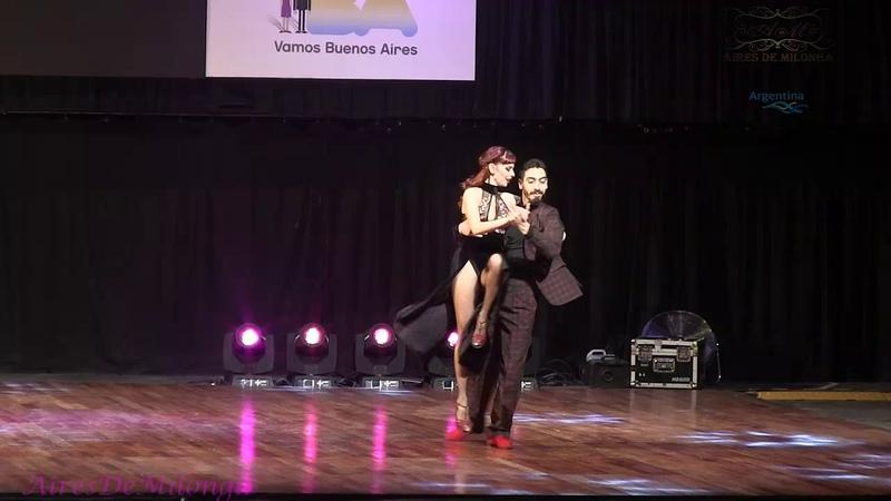 Puesto 3 Final Escenario, Mundial de tango 2018, Emmanuel Angel Casal, Yanina Muzyka, Avellandeda