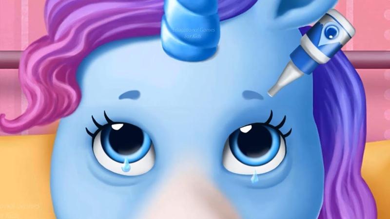Hermanas Pony El Hospital – Divertido Animales Cuidado de Mascotas Juegos para Niños Por TutoTOONS