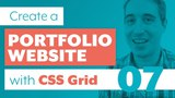 How to create a Portfolio Website with CSS Grid &amp Sass Part 7 Media Queries