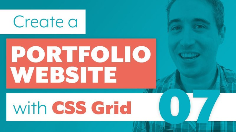 How to create a Portfolio Website with CSS Grid Sass | Part 7: Media Queries