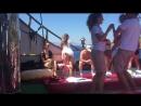 Пиратский корабль в Эгейском море Красота музыка адриналин а наши в телефонах