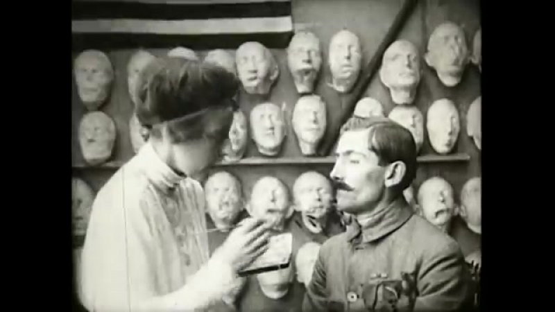 Anna Coleman Ladds Studio for Portrait Masks in Paris