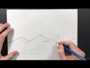 013 Drawing a landscape with geometric shapes