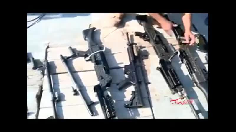 Американские морские пехотинцы расплакались когда были задержаны бойцами морского Корпуса стражей исламской революции КСИР за