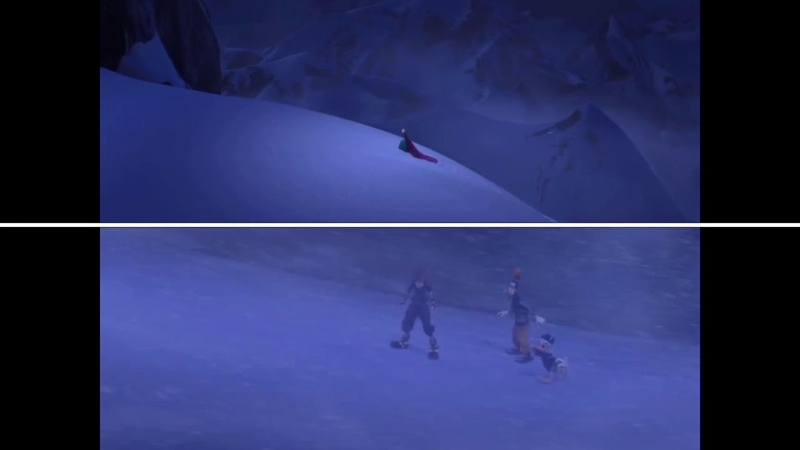 Let it Go - Frozen vs. Kingdom Hearts III Comparison