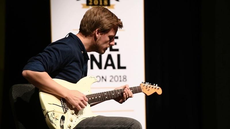 Guitarist of the Year 2018 finalist - Stig Trip