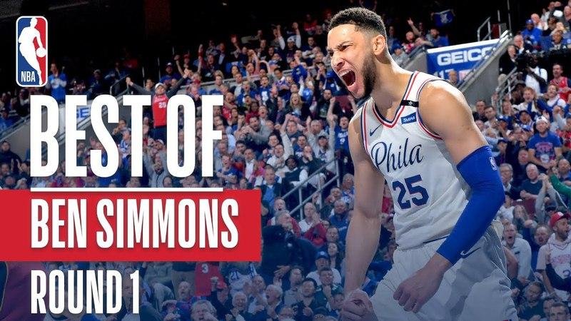 Ben Simmons' Best Plays From The First Round NBANews NBA NBAPlayoffs 76ers BenSimmons