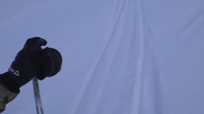 1 2 Зимний лыжный поход с ночевкой по р Мане Избы волокуши походные палатка спечкой