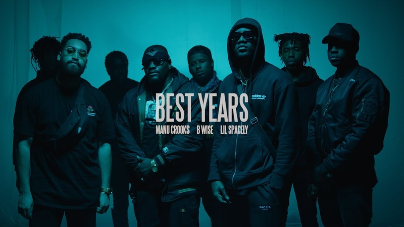 Manu Crooks - Best Years feat. B Wise Lil Spacely (Official Music Video)