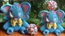 How To Make 3D Origami Elephant | cómo hacer elefante de origami 3D