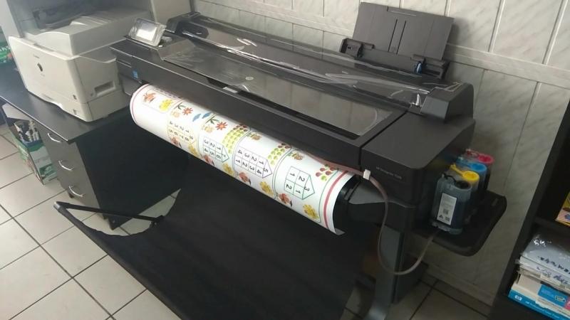 Широкоформатная печать В Сервис-Центре КРОКУС