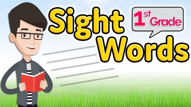 First grade Sight Words 1st grade Dolch list