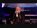 Madonna - Living For Love and Ghosttown on Le Grand Journal