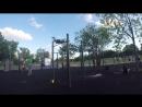 Лето, солнце, жара и немного slow mo в кадр💪😎☀️ . . . calisthenics freestyle handstand freestylebar train streetworkout w