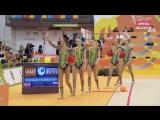 Сборная команда России ГУ - 3 мяча и 2 скакалки F 18.000