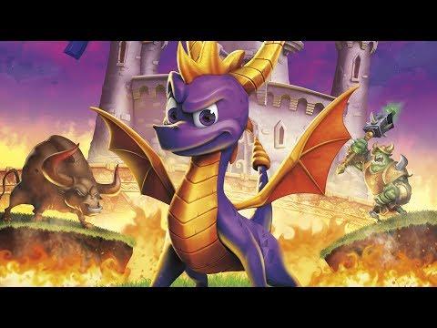 Поджигаем и бодаем. Запись стрима по Spyro Reignited Trilogy