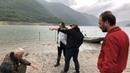 Трофейная рыбалка на озере Жинвали, Грузия, часть V