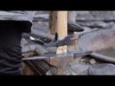Making an adze Blacksmithing
