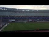 Радость стадиона после забитого гола минчан!