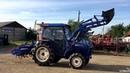 Японский трактор Iseki TA417 -