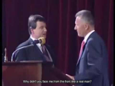 The Czech Prime minister slaps the Health minister