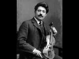 Муки любви Вальс Liebesleid Ф. Крейслер 1910 год.
