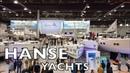 Hanse Yachts Review Краткий обзор яхт верфи Hanse Выставка Dusseldorf Boat Show 2019