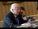 Трампу перед звонком Путину принесли бумаги с большой надписью «не поздравлять»