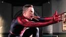 Джона Джеймсон в костюме человека-паука. Удаленная сцена Человек-паук 2