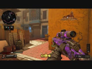 I hit a 5 multi with the outlaw sniper on morocco! black ops 4