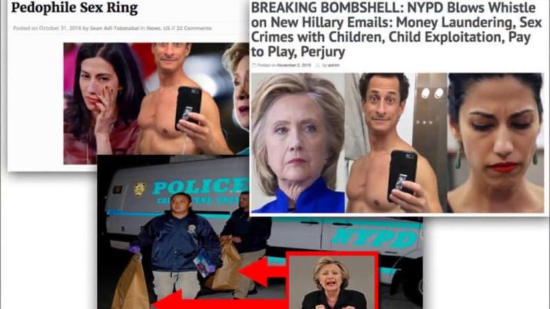 PIZZAGATE Hillary Clinton Huma Abedin KINDESMISSBRAUCH VIDEO BEWEIS wird veröffentlicht