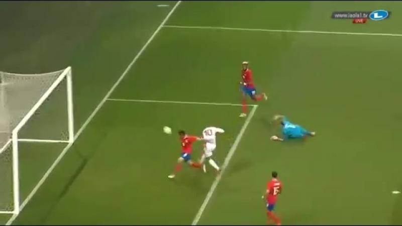 Wahbi Khazri Goal HD Tunisia 1 0 Costa Rica 27.03.2018