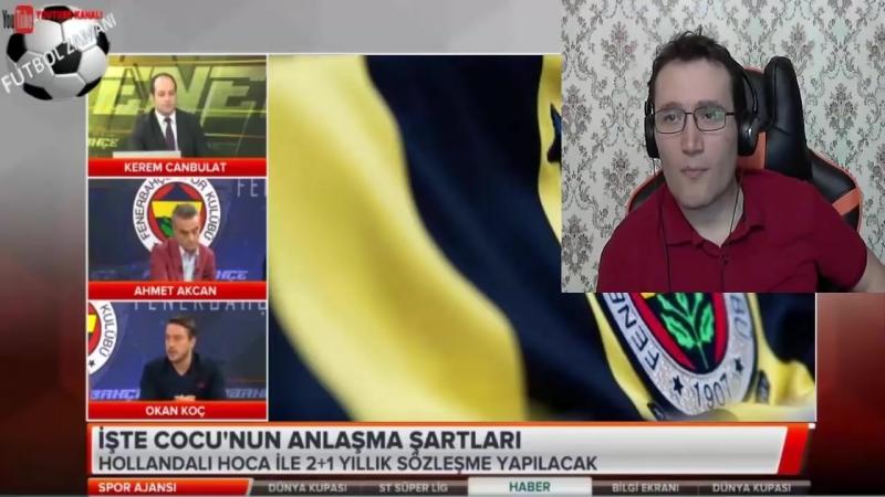 Fenerbahçede Aykut Kocamanın Gidişi ve Cocu Transferi Yorumları 19 Haziran 2018