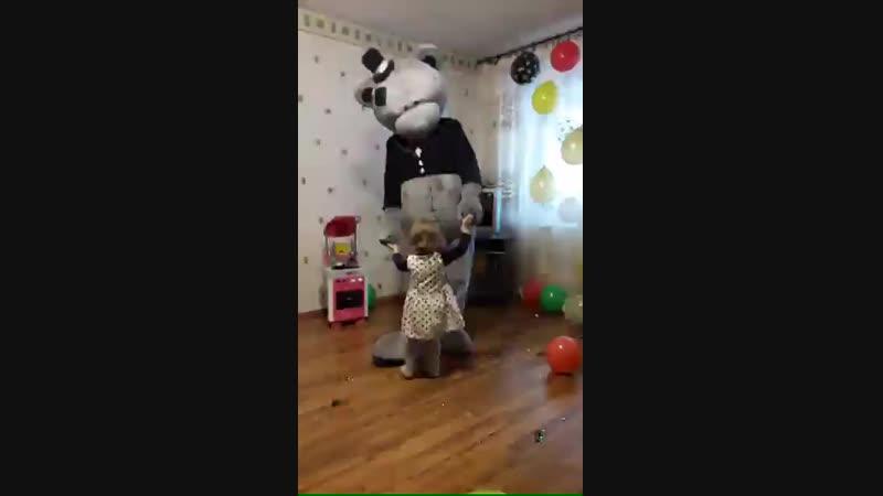 4.11.18 Веселье Кирочки с Мишкой Тедди 👍👍