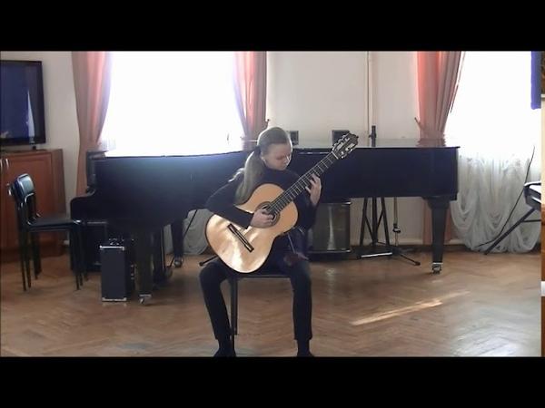 VIVA GUITARRA, автор и исполнитель Бестигольникова Таня. Сказочка (сюита в 5-ти частях)