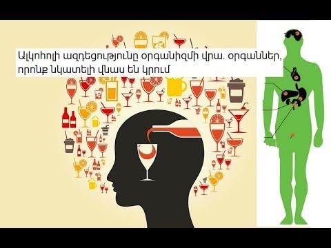 Ալկոհոլի ազդեցությունը օրգանիզմի վրա. 5 օր1