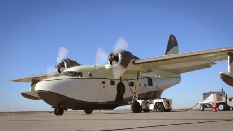 Grumman G-111 Albatross Interior Installation   Duncan Aviation