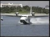 Grumman G-73T Mallard landing
