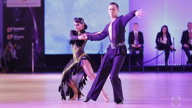 Andrea Silvestri - Varadi Martina, HUN | Dancesport Cup 2019 - WDSF WO LAT - solo C