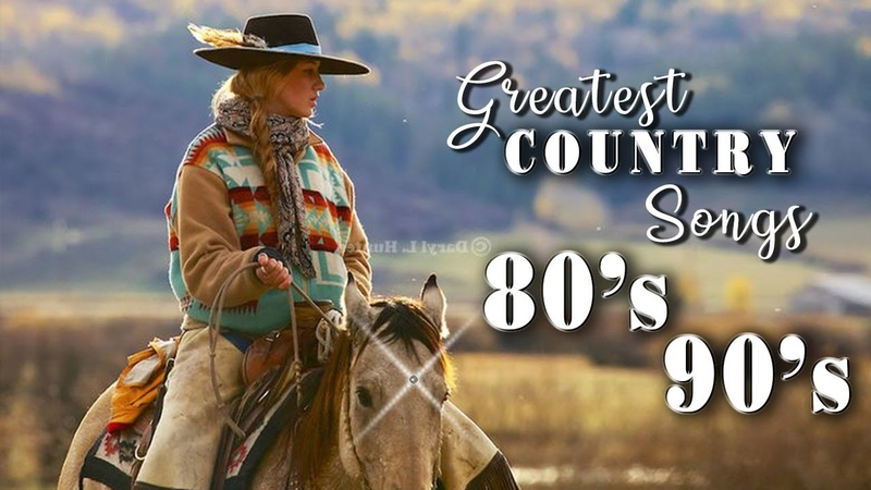 Top 100 Classic Country Songs of 80s 90s - Greatest Old Classic Country Music Hits Collection