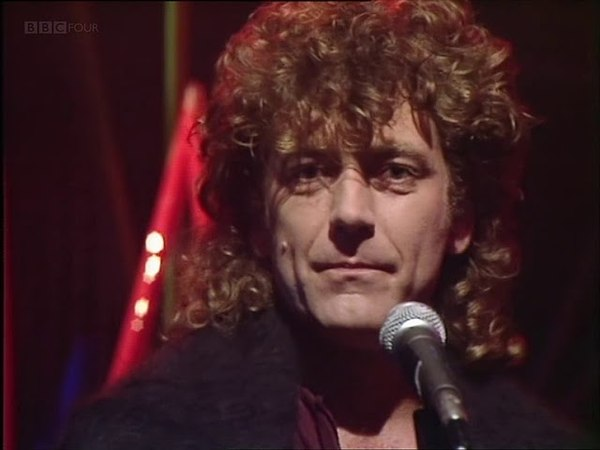 Robert Plant Big Log 1983 High Quality Top Of The Pops