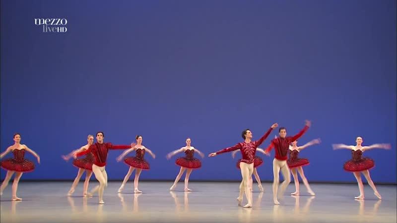 Хрустальный дворец (Джордж Баланчин) (Le Palais de Cristal George Balanchine) Парижская национальная опера 2014